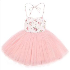 Other - Baby Floral Tulle Tutu Dress
